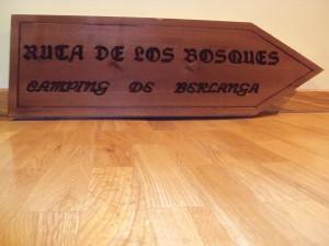 rotulo madera berlanga